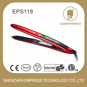 New hot selling products hair flat iron hair straightener with dual voltage for dry and wet hair use EPS118