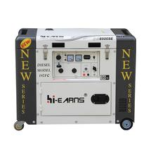 6KW top open one white new type single phase generator japan