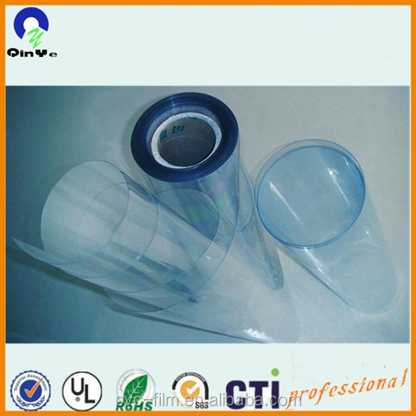 0.3mm super clear natural PVC material plastic sheeting