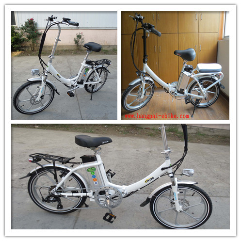 Small electric foldable full suspension 36v 48V 250w 300W 350W 500w brushless motor two 2 seat electric bike