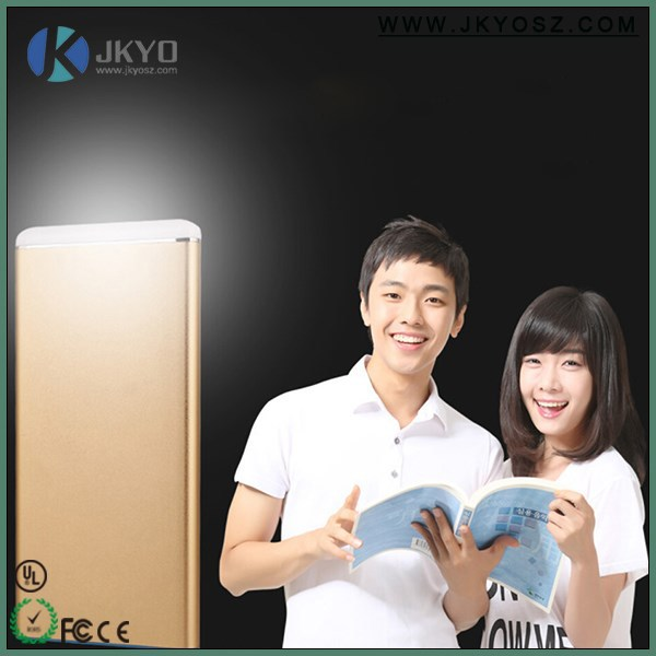 power bank aluminium/ 8000mah dual usb charger power bank for vivo/ new products on china market