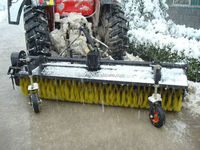 Shandong Sunco!! power sweeper snow/snow sweeper with cvt