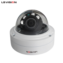 LS VISION Surveillance IR Starlight 5MP H.265 IP Camera CE ROHS FCC for Outdoor