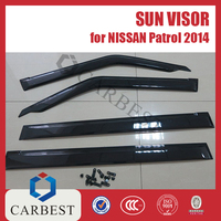 High Quality SUN VISOR for Nissan Patrol 2014 Rain Shield