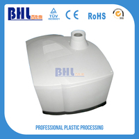 Economical vacuum formed abs plastic product white mask table top