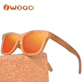 Top Quality 100% Inspection Low MOQ Free Logo Fashion Best Bamboo Sunglasses Mirror