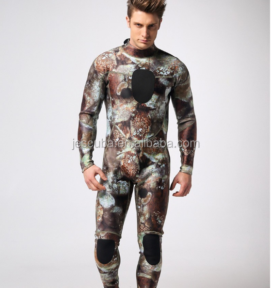 camouflage Wetsuit for men, Perfect for surfing diving and kiteboarding customized wetsuit,customized freedive wetsuit