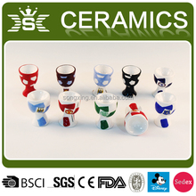 novelty egg holder European Cup ceramic egg cup