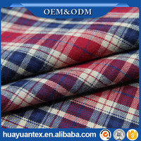 yarn dye flannel brush cotton twill fabric construction