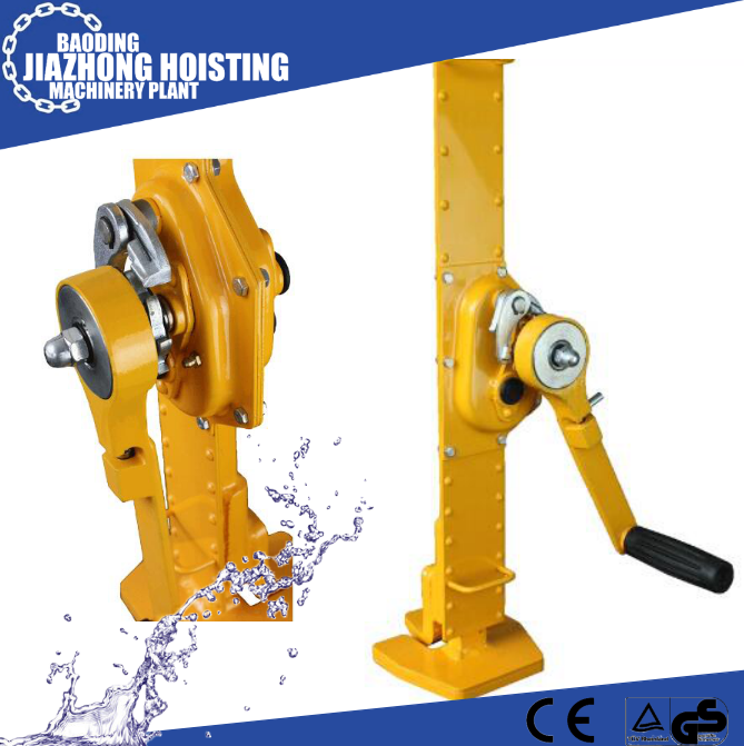 10t mechanical lift rack jacks or track jack for railway or lifting