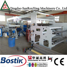 Automatic hot melt adhesive UV coating machine