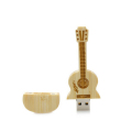 Custom Logo Wooden Guitar Shape USB Pendrive