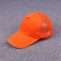 Blank Solid 5 Panel Mesh Cap