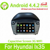 Wholesale Capacitive touch screen Android 4.4 car auto raido gps for Hyundai IX35 2013/2014 dashboard