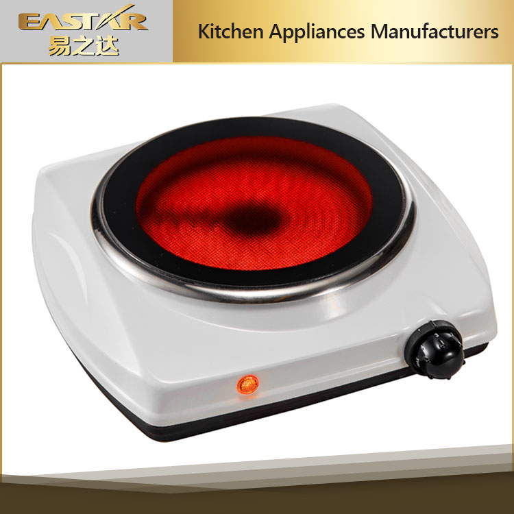 Home applience 1 burner ceramic hot plate wholesale ceramic burner electric Infrared stove with factory price