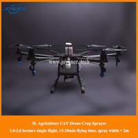 china manufacture pesticide spray machine , 5,10,15 liters pesticide load uav drone agricultural crop sprayer