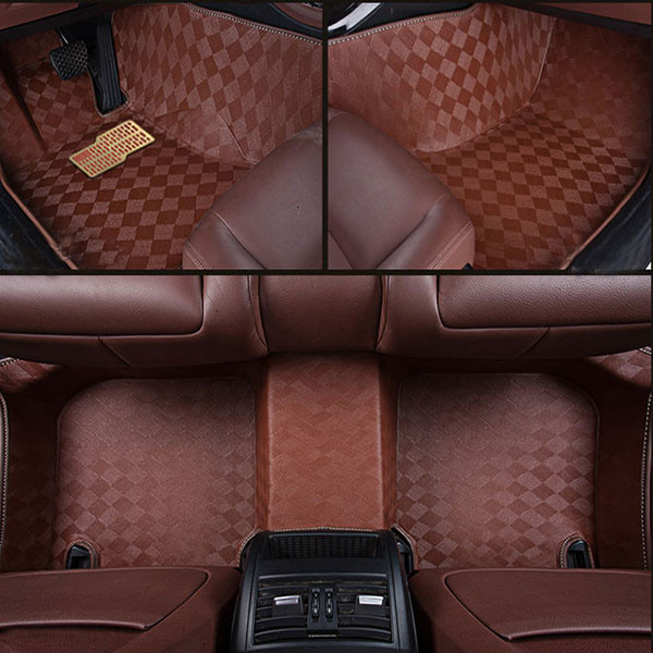 Waterproof Mould Car Mat for Specific Car Leather Car Carpet