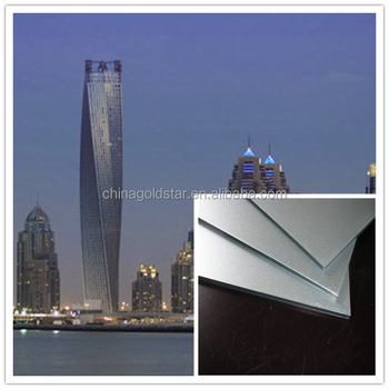 lowest price china supplier engineering alucobond aluminum composite panel in dubai