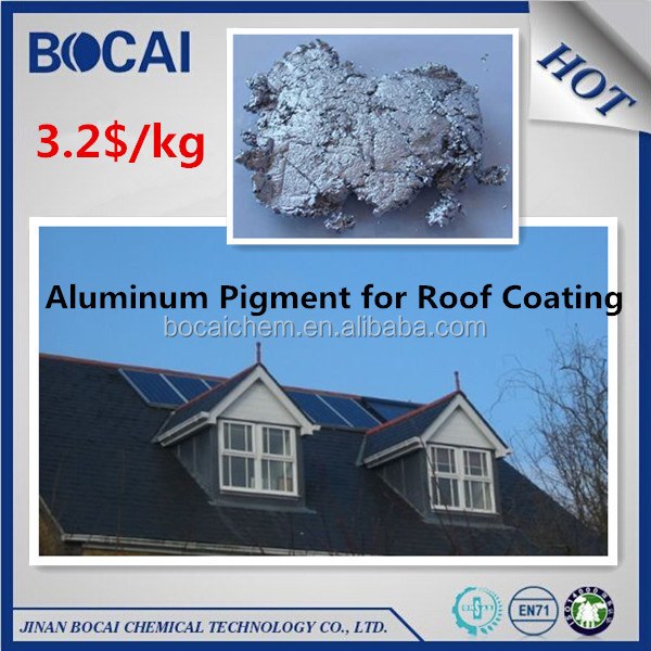 3.2$/kg best price !! South Africa market building roof paint usage leafing aluminum paste used with bitume