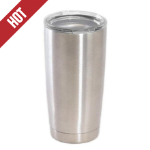 Double Walled Stainless Steel Travel Mug Insulated Tumbler Coffee Beer Cup Keeps Cold 20 OZ Tumbler