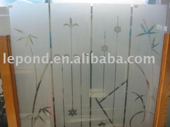 frosted glass frosted tempered glass