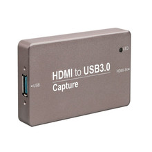 Capture high-quality non-compressed 1080 HD video Professional Creative Video Capture with Metal Case