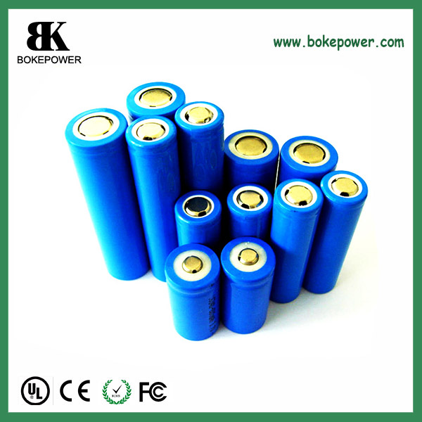 3.6V 3400mah 18650 protected type lithium battery 4.8A discharge battery