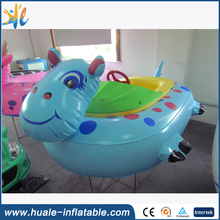 High quality amusement park water bumper boat for water games