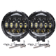 High power 7 inch led driving light round, auto working light led