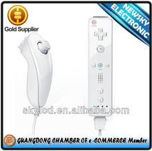 Factory price for wii controller for wii remote and nunchuck