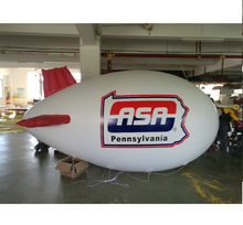 PVC inflatable floating advertising airship/blimp