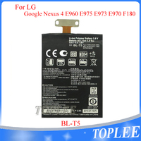 2100mAh BL-T5 battery BL T5 battery For LG Optimus Google Nexus 4 E960 E975 E973 E970 F180 E960