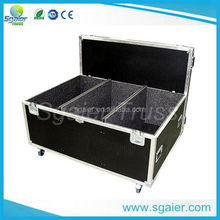 Factory price Lockable Hard Aluminium Tool Box Flight Case With Foam