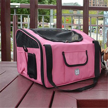 Wholesale High Quality Fashionable Car Dog Pet Carrier Travel Bag