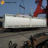 Liquid chemicals transporter ISO container tank for ammonia