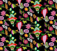 anti UV fast dry floral prints nylon spandex swimwear fabric