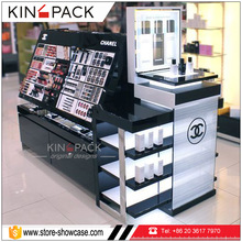 Cosmetic display stand used mall kiosk for sale