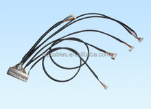 Customized one to five JAE connectors wiring harness cable assemblies