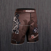 Martial brand ,brown fight crossfit mma shorts