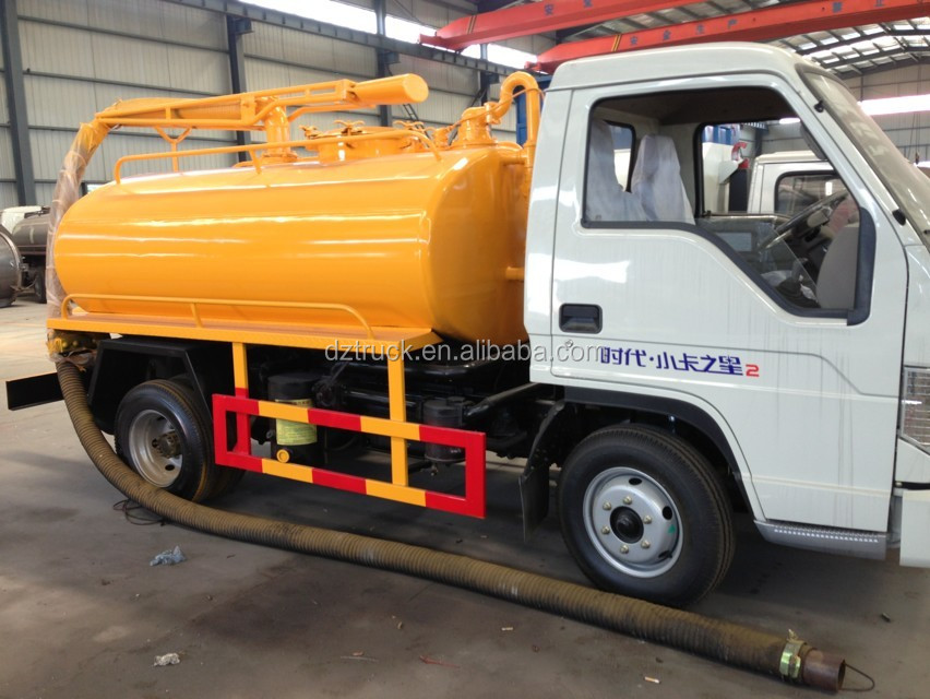 Foton 4X2 waste water suction truck for sale