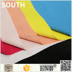 Supply Double Pique Merbau 250GSM Polyester Jacquard Fabric
