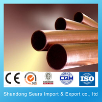 air conditioner copper coil pipe / heat pipe with copper coil C10200