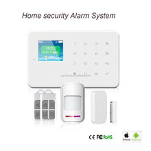 Smart Home Security Touch Screen Panel 1.7 inch TFT wireless auto dial alarm system GSM Alarm System smart home