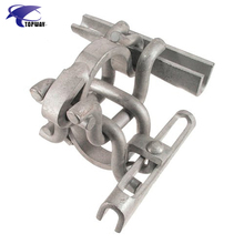 Holland Type Double Coupler 48.3mm Tube Clamp Scaffolding Pipe Swivel Coupler