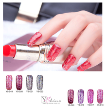 Super flash glitter shining 24 Colors Gel Polish Manufacturer ,Beauty Choices Colored UV Gel Polish best Diamond gel