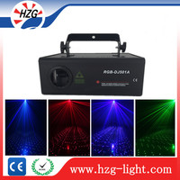 Event decoration equipment mini laser stage lighting manual 500mw night star laser RGB Animation 3d projector