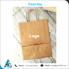 Wholesale Printed Kraft Paper Bag Available in Custom Size