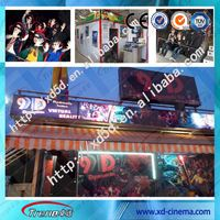 Best truck mobile 5d cinema with highly quality for shopping mall center project