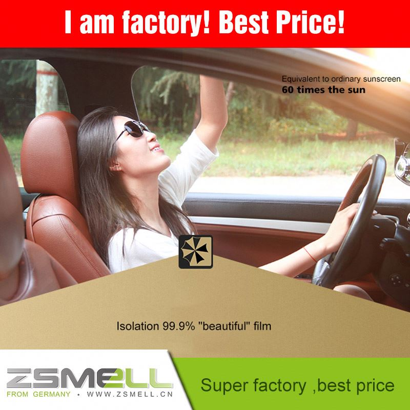 Good quality car window tinting film with Anti-scratch window film for homes
