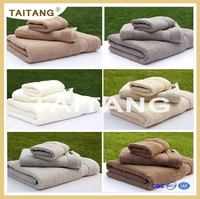 2016 high quality wholesale solid color 100% cotton hotel towels